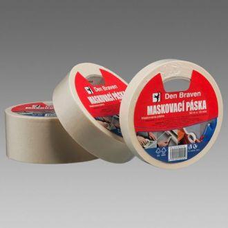 Maskovací krepová páska 60 °C 30 mm x 50 m