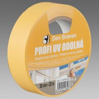 Profi UV odolná maskovací páska 30mm, 33m/role