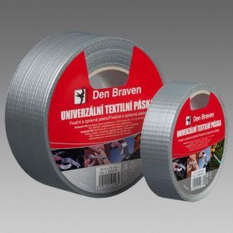 Univerzální textilní páska stříbrná 38 mm x 50 m