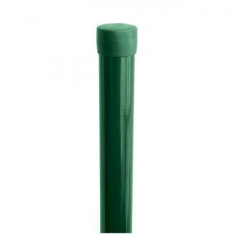 Plotový sloupek IDEAL® poplastovaný (Zn + PVC) 1500/48, bez příchytky
