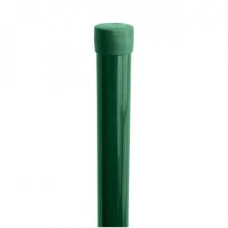 Plotový sloupek IDEAL® poplastovaný (Zn + PVC) 1750/48, bez příchytky