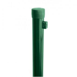 Plotový sloupek IDEAL® poplastovaný (Zn + PVC) 2600/38