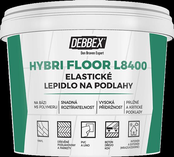 Elastické lepidlo na podlahy HYBRI FLOOR L8400 DEN BRAVEN