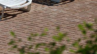 CS BETON Zámková dlažba CIHLA 4 cm | šedá, černá, červená, hnědá, javor, okr