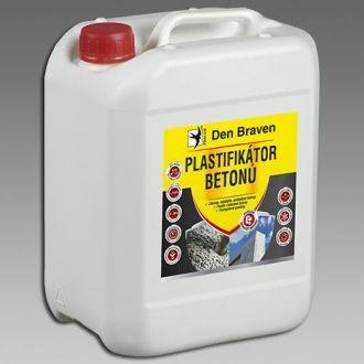 Plastifikátor betonů DenBraven, 5 l
