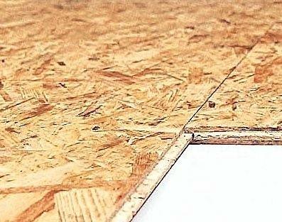 OSB deska pero drážka 2500x675 mm tloušťka 12mm KRONOPOL